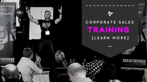 Corporate Sales Training Coach